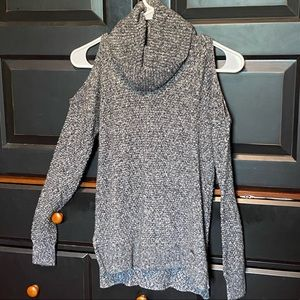 Hollister open shouldered turtle neck sweater